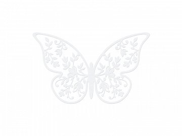 Paper Decorations Butterfly, 8 x 5cm (1 ctn / 50 pkt) (1 pkt / 10 pc.)