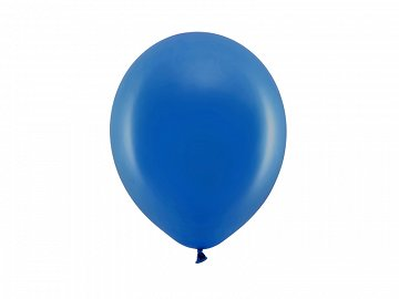 Rainbow Balloons 23cm pastel, navy blue (1 pkt / 100 pc.)
