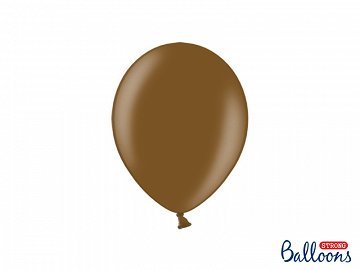Strong Balloons 23cm, Metallic Chocolate Brown (1 pkt / 50 pc.)