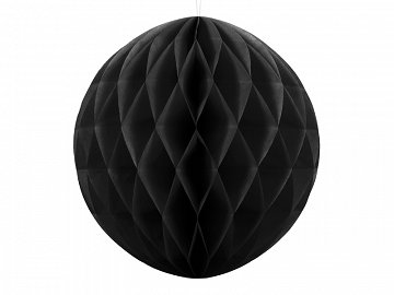 Honeycomb Ball, black, 40cm