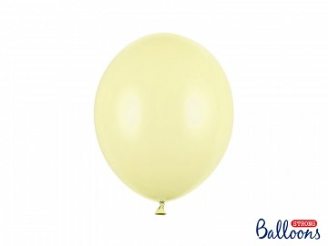 Strong Balloons 27cm, Pastel Light Yellow  (1 pkt / 50 pc.)