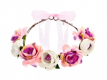 Flower crown, mix, 17cm