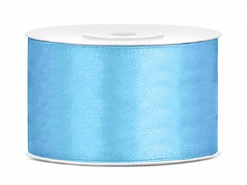 Satin Ribbon, sky-blue, 38mm/25m