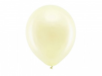 Rainbow Balloons 30cm metallic, cream (1 pkt / 100 pc.)