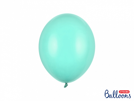 Balony Strong 27cm, Pastel Light Mint (1 op. / 10 szt.)