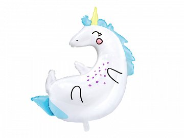 Foil Balloon Unicorn, 70x75cm
