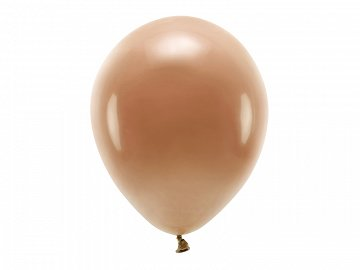 Eco Balloons 30cm pastel, chocolate brown (1 pkt / 10 pc.)