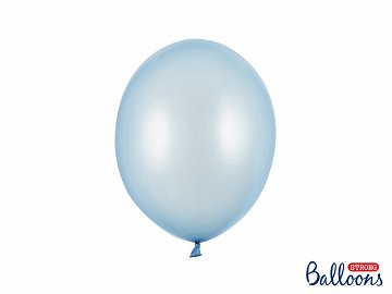 Balony Strong 27cm, Metallic Baby Blue (1 op. / 10 szt.)