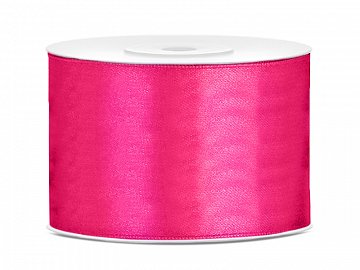 Satin Ribbon, dark pink, 50mm/25m