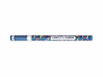 Confetti and streamers cannon, mix, 80cm