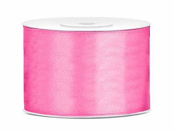 Satin Ribbon, pink, 50mm/25m