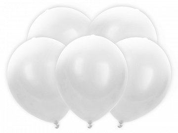 LED Balloons 30cm, white (1 pkt / 5 pc.)