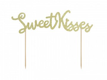 Topper na tort Sweet Love - Sweet Kisses