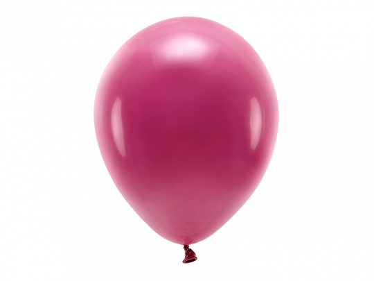 Eco Balloons 30cm pastel, deep red (1 pkt / 10 pc.)