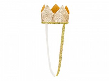 Crown, gold, 8.5cm