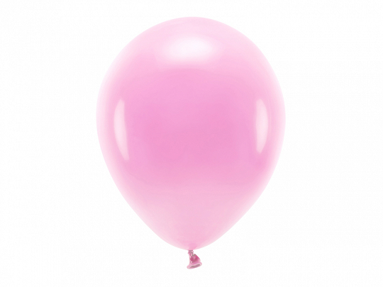 Eco Balloons 30cm pastel, pink (1 pkt / 10 pc.)