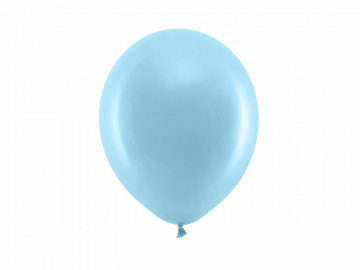 Rainbow Balloons 23cm pastel, light blue (1 pkt / 100 pc.)