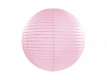 Paper lantern, light pink, 20cm