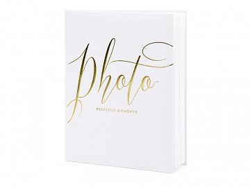 Photo album Precious moments, 20x24.5cm, white, 22 pages
