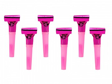 Whistles, dark pink (1 pkt / 6 pc.)