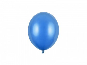 Strong Balloons 12cm, Metallic Cornflower Blue (1 pkt / 100 pc.)