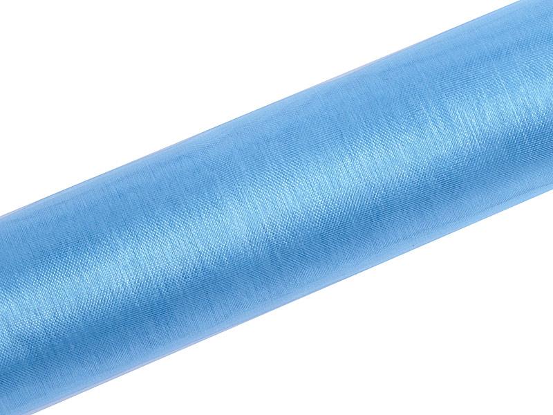 Organza modrá 16cm 6ks