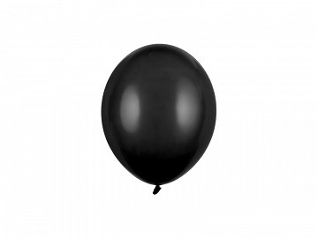 Strong Balloons 12cm, Pastel Black (1 pkt / 100 pc.)