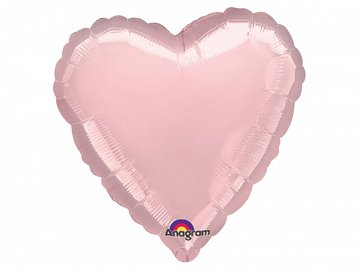 Microfoil balloon 18'' HRT, light pink