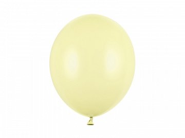 Strong Balloons 30cm, Pastel Light Yellow  (1 pkt / 100 pc.)