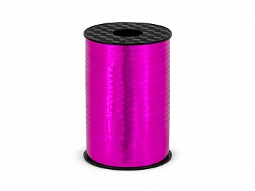 Plastic ribbon, dark pink, 5mm/225m