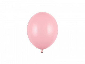 Balony Strong 12cm, Pastel Baby Pink (1 op. / 100 szt.)