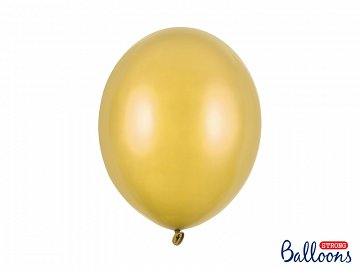 Balony Strong 30cm, Metallic Gold (1 op. / 10 szt.)