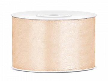 Satin Ribbon, cream, 38mm/25m (1 pc. / 25 lm)
