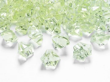 Crystal ice, light green, 25 x 21mm (1 pkt / 50 pc.)