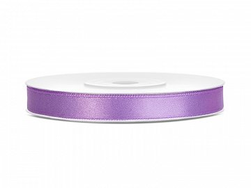 Satin Ribbon, lavender, 6mm/25m (1 pc. / 25 lm)