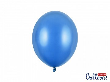 Balony Strong 27cm, Metallic Corn. Blue (1 op. / 10 szt.)