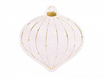 Napking Christmas Bauble, 12x12cm (1 pkt / 20 pc.)