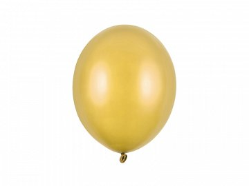 Balony Strong 27cm, Metallic Gold (1 op. / 100 szt.)