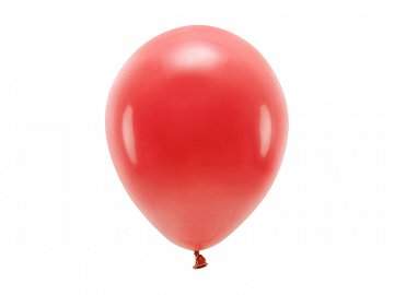 Eco Balloons 26cm pastel, red (1 pkt / 10 pc.)
