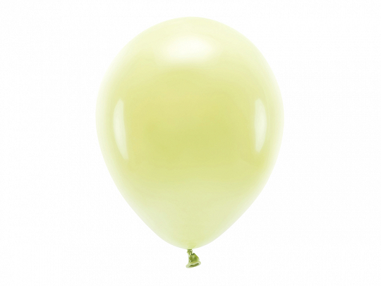Eco Balloons 30cm pastel, light yellow (1 pkt / 10 pc.)