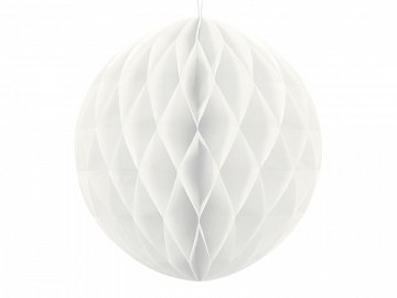 Honeycomb Ball, white, 20cm