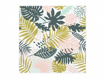 Napkins Aloha - Leaves, 33x33cm (1 pkt / 20 pc.)