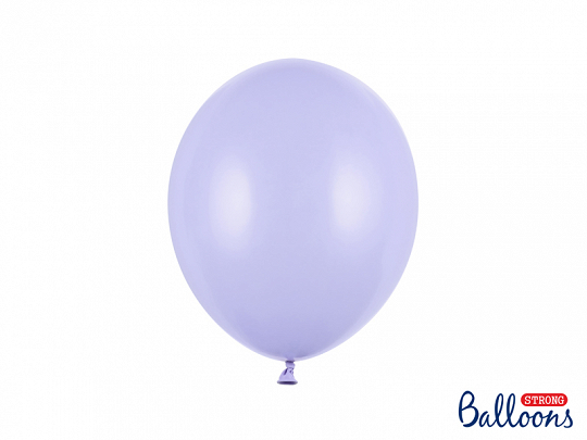 Strong Balloons 27cm, Pastel Light Lilac (1 pkt / 50 pc.)