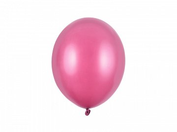 Balony Strong 27cm, Metallic Hot Pink (1 op. / 100 szt.)