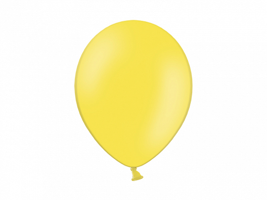 Balony 14'', Pastel Yellow (1 op. / 100 szt.)