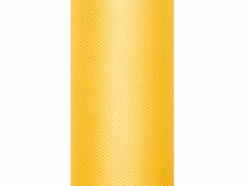Tulle Plain, yellow, 0.15 x 9m (1 pc. / 9 lm)