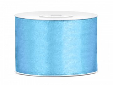 Satin Ribbon, sky-blue, 50mm/25m