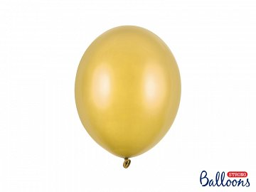 Balony Strong 27cm, Metallic Gold (1 op. / 10 szt.)