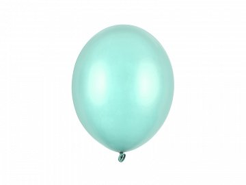 Balony Strong 27cm, Metallic Mint Green (1 op. / 100 szt.)
