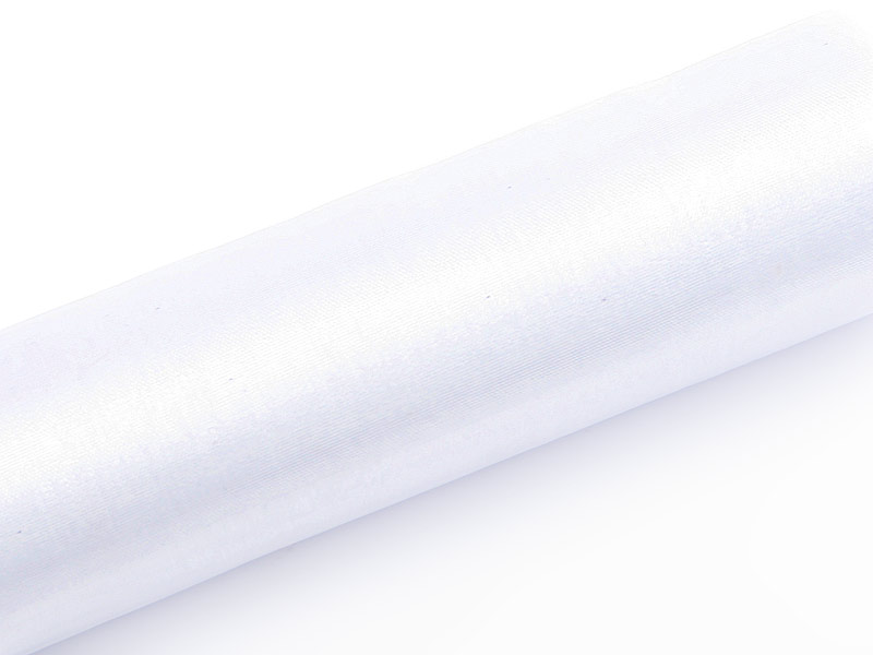 Organza biela 16cm 12ks